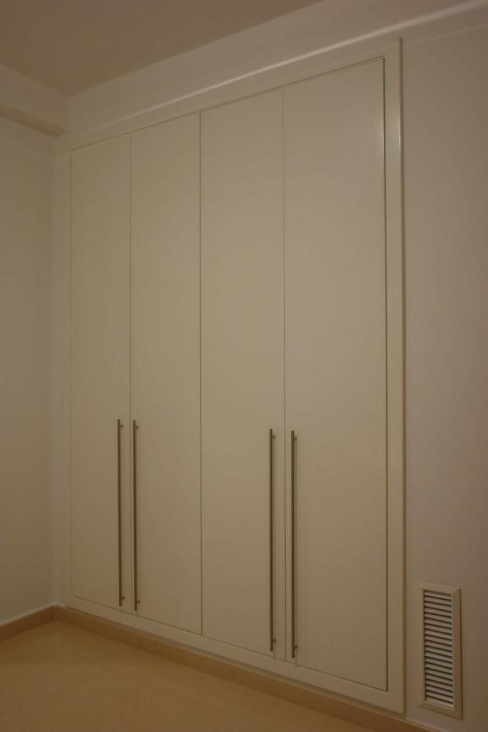 Lacar armario en blanco free armario lacado blanco - Pintar aluminio lacado ...