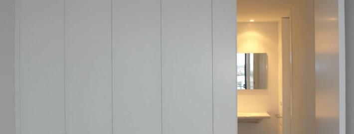 armario blanco lacado menorca