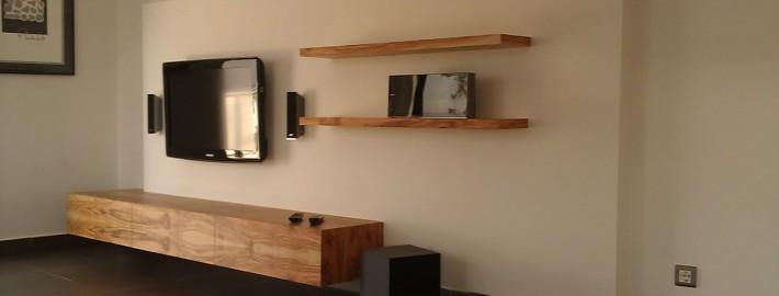 muebles comedor y estanterías menorca